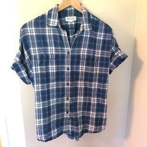 MADEWELL - Courier Shirt - Blue